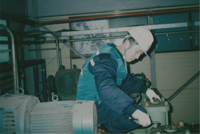 1993.04 - Cold/Hot water purifier production